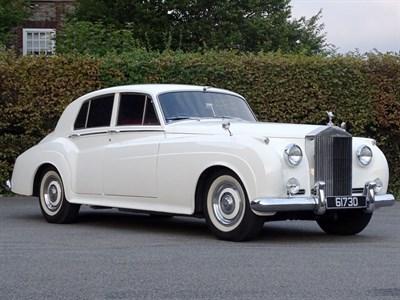 Lot 82-1960 Rolls-Royce Silver Cloud II