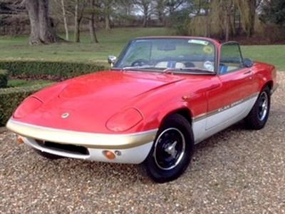 Lot 68-1968 Lotus Elan S4 Convertible