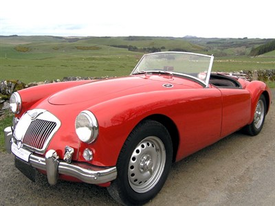 Lot 73 - 1958 MG A 1600 Twincam Roadster