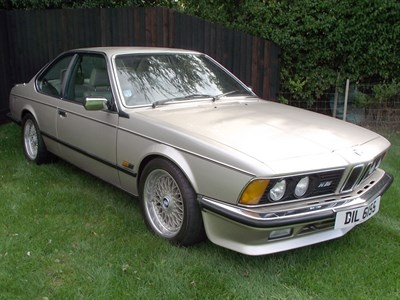Lot 62 - 1986 BMW 635 CSi
