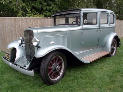 Lot 85-1932 Nash Six Sedan