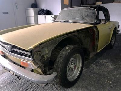 Lot 19 - 1973 Triumph TR6