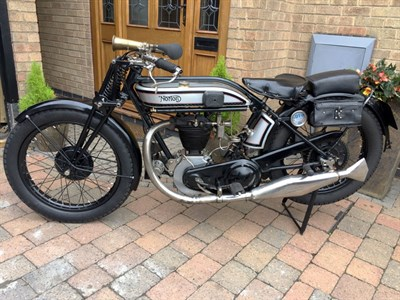 Lot 134 - 1927 Norton Model 18