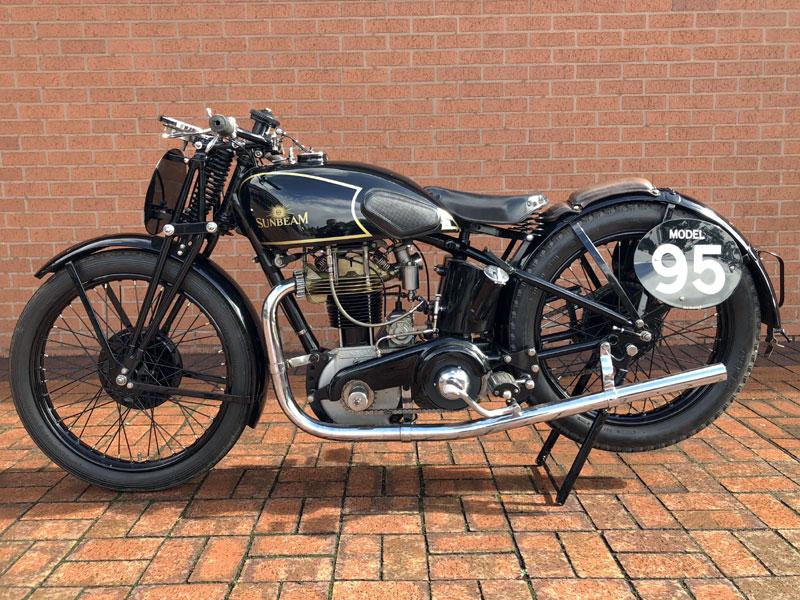 Lot 45 - 1934 Sunbeam Model 95R