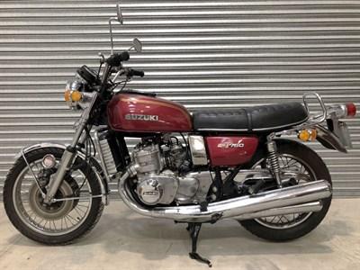 Lot 144 - 1976 Suzuki GT750A
