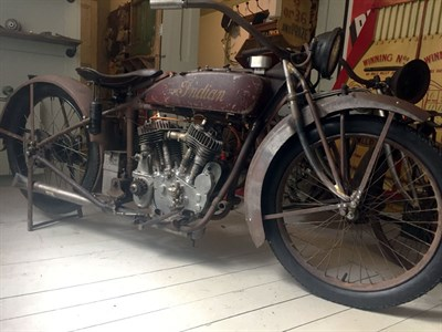 Lot 71-1922 Indian Chief