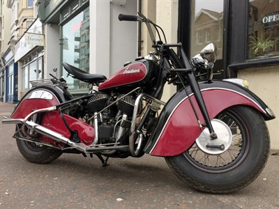 Lot 73-1946 Indian Chief