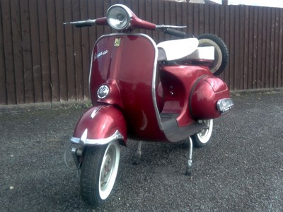 Lot 74 - 1963 Vespa 150