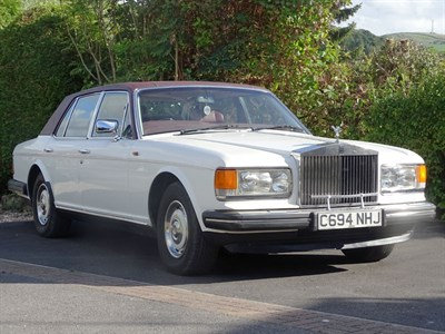 Lot 32 - 1986 Rolls-Royce Silver Spirit