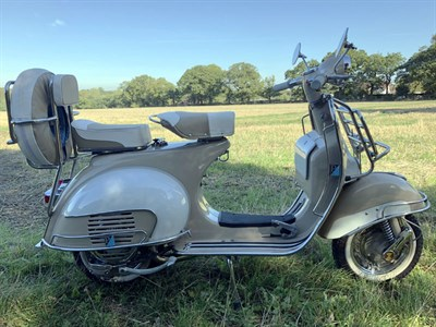 Lot 69 - 1960 Vespa 150