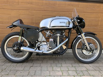 Lot 28-1960 Norton Manx 40M