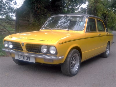 Lot 8 - 1979 Triumph Dolomite Sprint