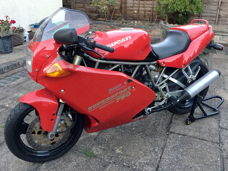 Lot 67 - 1993 Ducati 750SS