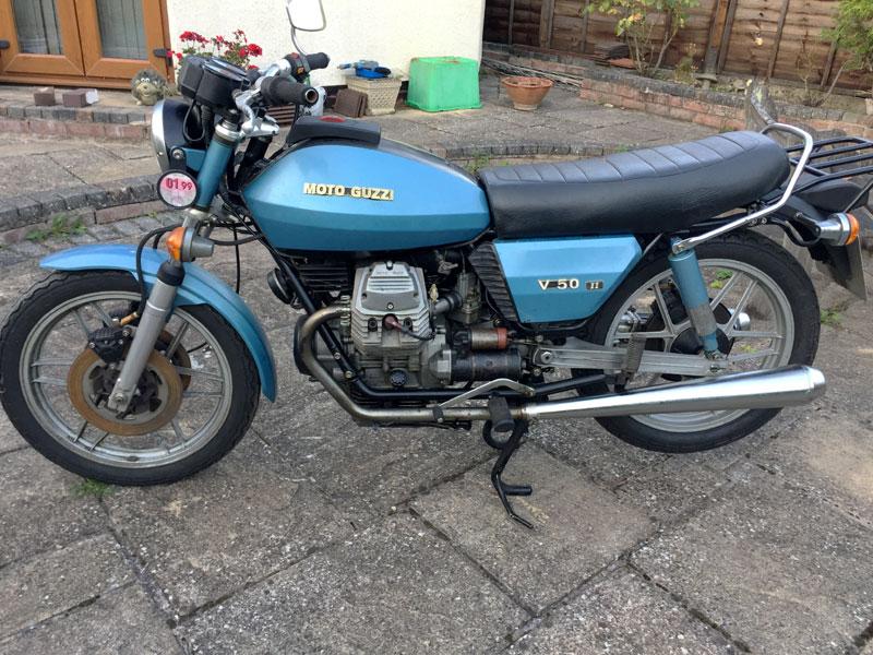 Lot 66 - 1980 Moto Guzzi V50 II