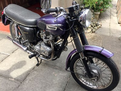 Lot 17-1970 Triumph T100SS Tiger
