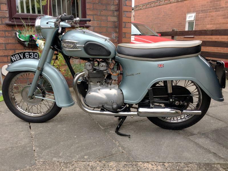 Lot 18 - 1960 Triumph 3TA Twenty One