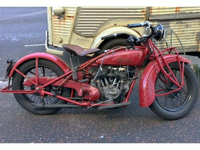 Lot 143 - 1929 Indian Scout 101