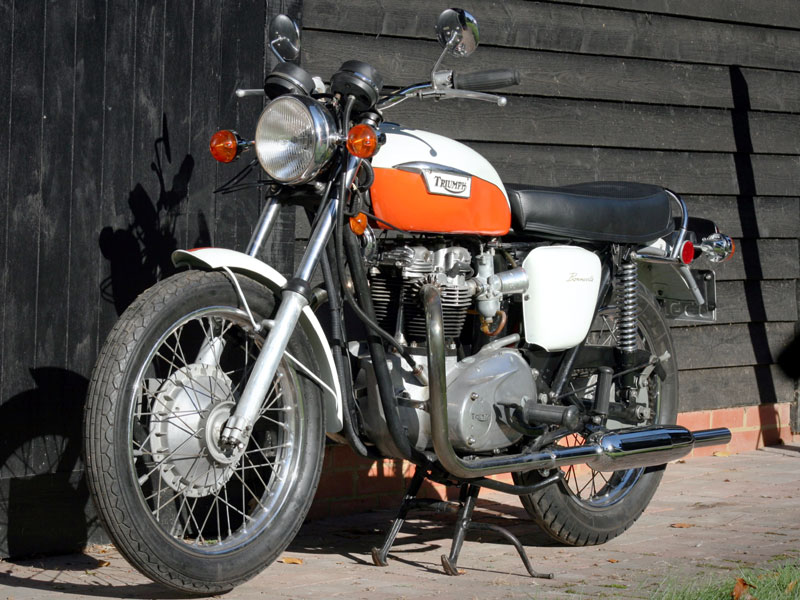 Lot 41-1972 Triumph T120R Bonneville
