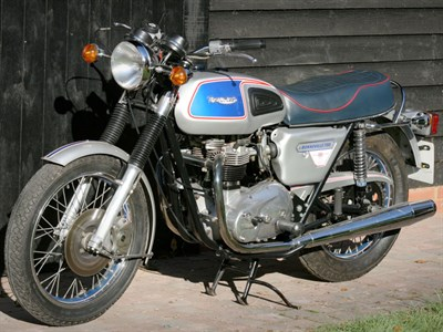 Lot 42-1978 Triumph T140J Bonneville Silver Jubilee