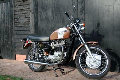 Lot -1972 Triumph T120V Bonneville