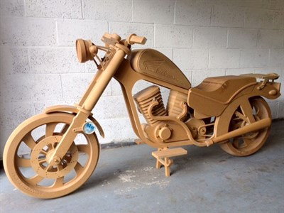 Lot 75-Wooden Replica