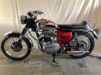 Lot 21 - 1967 BSA A65 Lightning