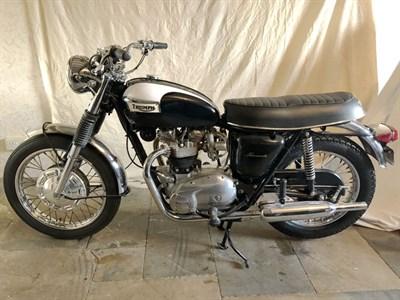 Lot 140 - 1968 Triumph T120R Bonneville
