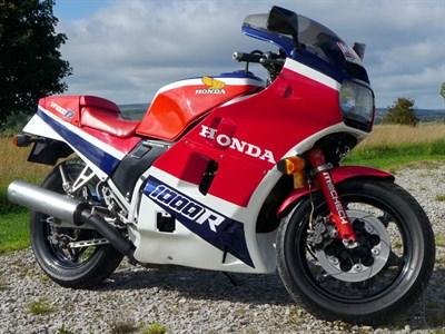 Lot 56-1984 Honda VF1000RE