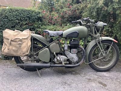 Lot 159 - 1941 BSA M20 WD