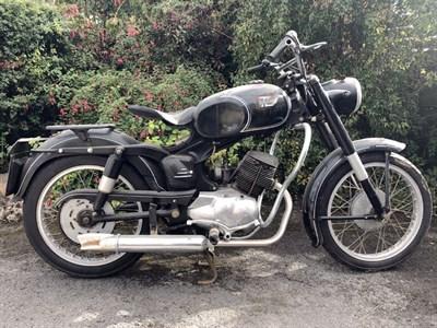 Lot 161 - 1952 Ducati 98 TL