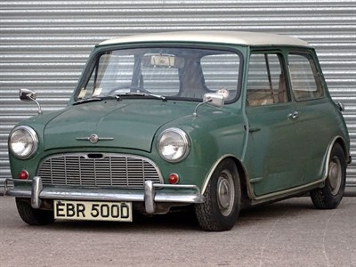 Lot 4 - 1966 Morris Mini Minor