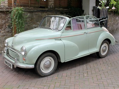 Lot 12 - 1957 Morris Minor 1000 Convertible