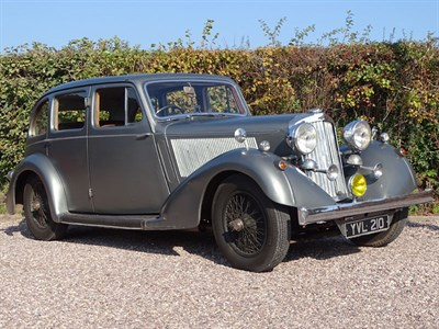 Lot 75 - 1937 Talbot BD75 Sportsman Saloon