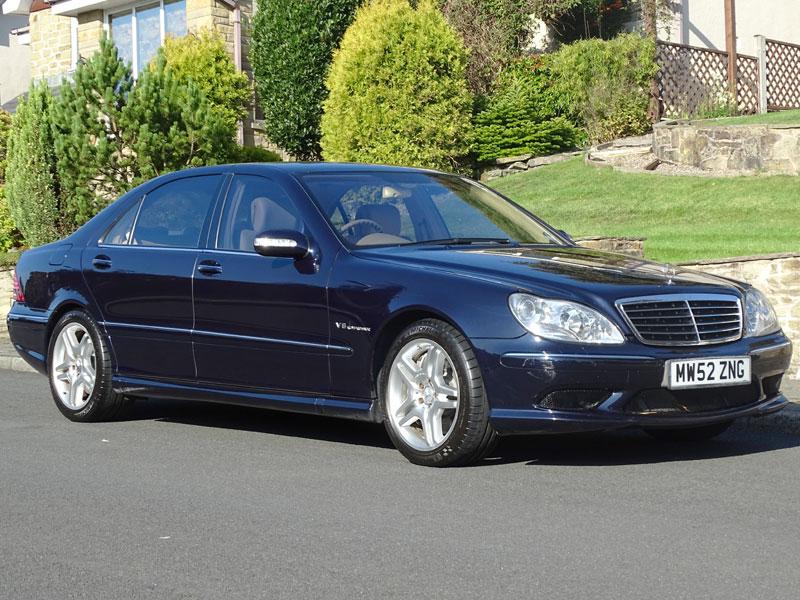 Lot 100 - 2002 Mercedes-Benz S55 AMG Limousine