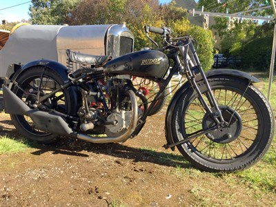 Lot 40-1930 Rudge-Whitworth 500cc
