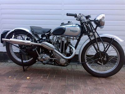 Lot 37-1939 Triumph T70 Tiger