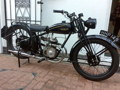 Lot 38 - 1947 Francis Barnett Merlin