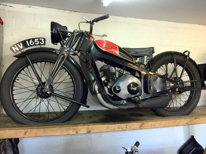 Lot 39 - 1932 Coventry Eagle Silent Superb