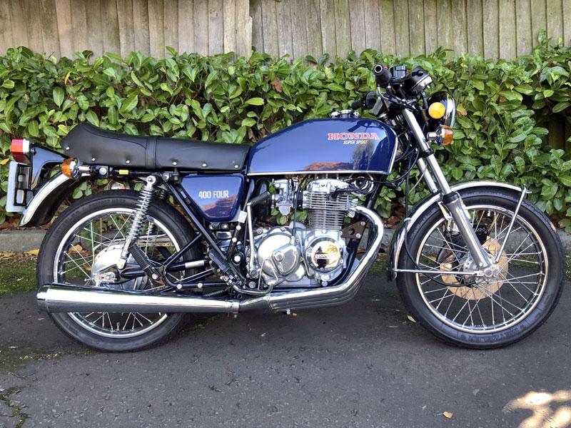 Lot 34 - 1976 Honda CB400F