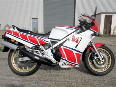 Lot 52-1985 Yamaha RZ500S