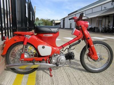 Lot 114 - 1962 Honda CT105 55
