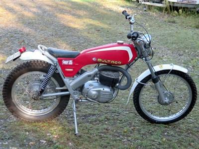 Lot 24-1973 Bultaco Sherpa T 250