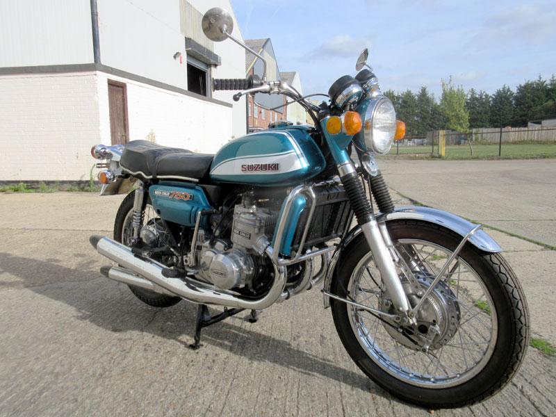 Lot 31 - 1972 Suzuki GT750J