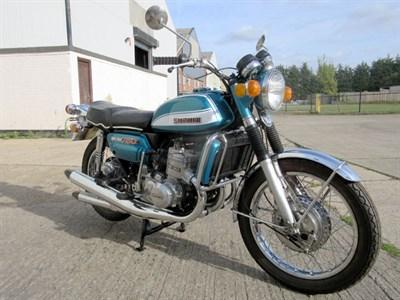 Lot 31-1972 Suzuki GT750J