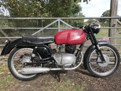 Lot 56 - 1956 Gilera 175T