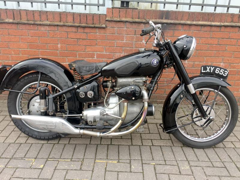 Lot 55 - 1951 Sunbeam S8