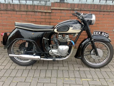 Lot 60-1960 Triumph T100A Tiger