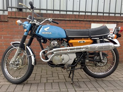 Lot 96-1970 Honda CL135
