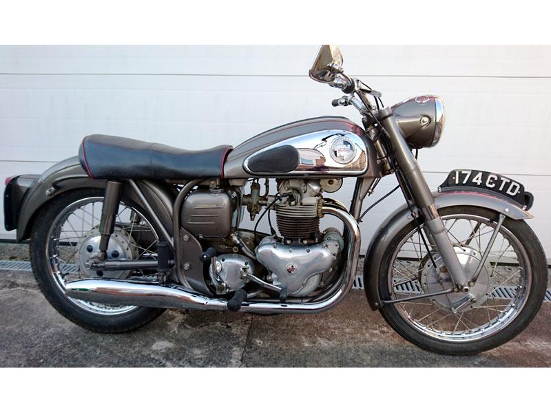 Lot 94 - 1957 Norton Dominator 99