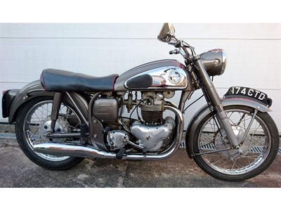 Lot 94-1957 Norton Dominator 99